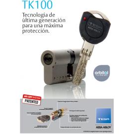 Bombin TESA ALTA SEGURIDAD TESA TK100