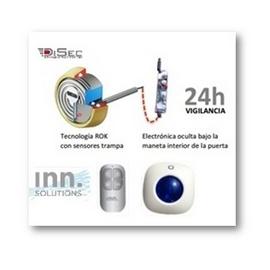Kit Escudo Protector con Alarma de Detección Anticipada para Puerta de Vivienda Inn Solutions