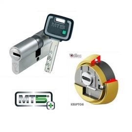 Kit Escudo DISEC BKS280 (Serie Kripton) + Cilindro MUL-T-LOCK MT5+ Reforzado (Perfil Europeo)