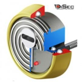 Escudo Protector Blindado Alta Seguridad con Alarma DISEC BD280LED-ROK dB+SIM