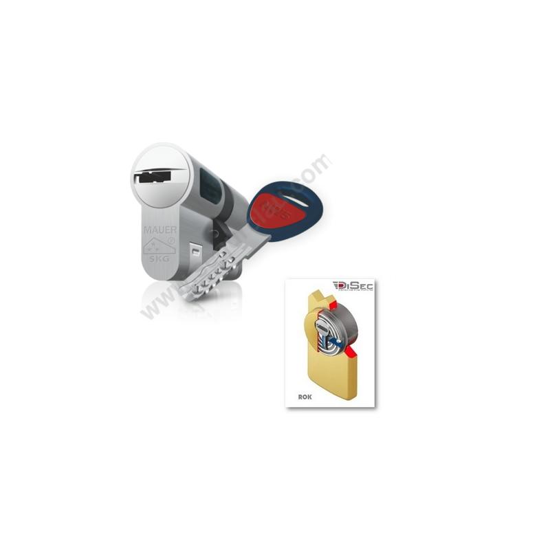 Kit Plus Escudo con Placa Disec 280EZC Rok + Bombin MAUER NW5