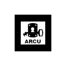 Cerradura ARCU 507 - Cilindro Golpe y Llave - Con Cilindro