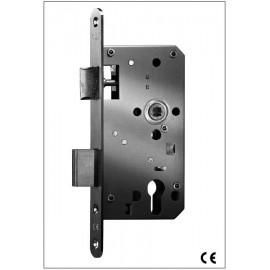 Cerradura Dorma Contract 281 - Uso Normal con RF - Cilindro Golpe y Llave (Caja Europea) - Sin Cilindro