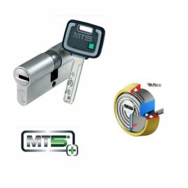 Kit Escudo Protector Blindado Alta Seguridad con Alarma DISEC BD280LED-ROK dB+SIM + Cilindro MUL-T-LOCK MT5+ Reforzado