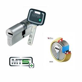 Kit Basico Seguridad Escudo DISEC BD280 (Serie ROK) + Cilindro Mul-T-Lock MT5+ Reforzado