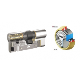 Kit Escudo Protector Disec BD280 Rok + Bombín KABA Expert Plus Extreme Protection System - 5 llaves