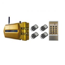 Cerraduras Goldenshield + 4 mandos a distancia + 1 mando generador de códigos