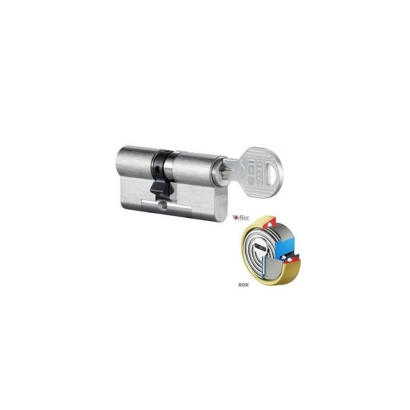 Kit Escudo Disec BD280 +  Bombín EVVA ICS - 5 llaves (Perfil Europeo)