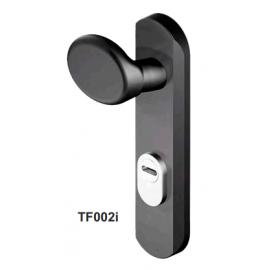 Escudo para Puerta Corta-fuegos DISEC TF002i Negro