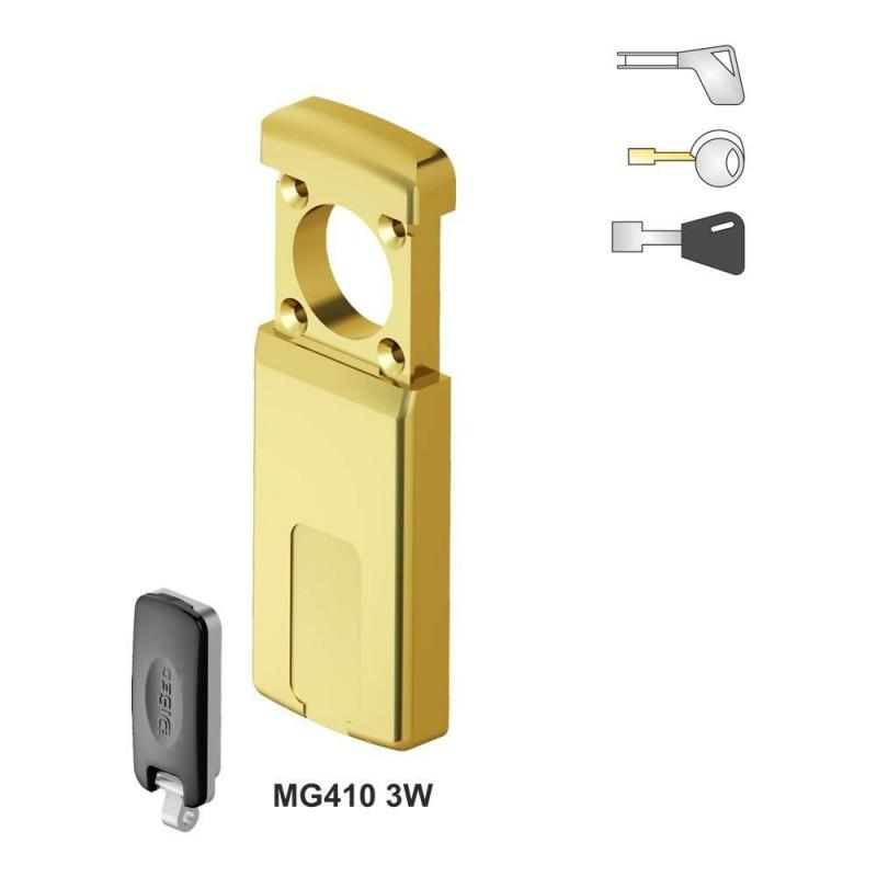 Escudo Protector Magnético DISEC MG410DM para Cerradura Borja