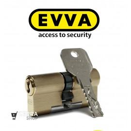 Bombín Antibumping EVVA 4KS PLUS Alta Seguridad 5 Llaves (Perfil Europeo)