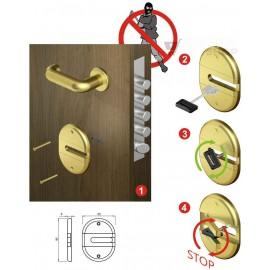 Escudo Protector  para Cerraduras Gorja BKEY01 DISEC