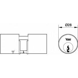 Cilindro AZBE Redondo 50N 28mm