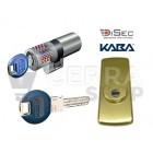 Kit Escudo Protector Disec LG280ARC + Bombín KABA Expert Plus 5 Llaves (Perfil Suizo Arcu)