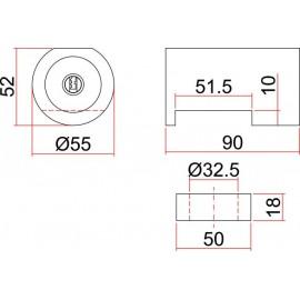 SAG BB3 - Candado de Seguridad para persiana