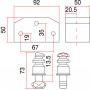 SAG BB6 IN - Candado de Seguridad para persiana