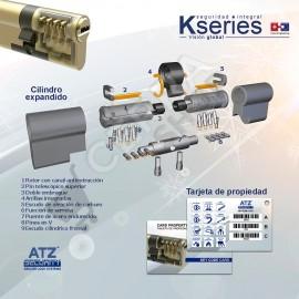 K SERIES de ATZ SECURITY - Bombín de Alta Seguridad