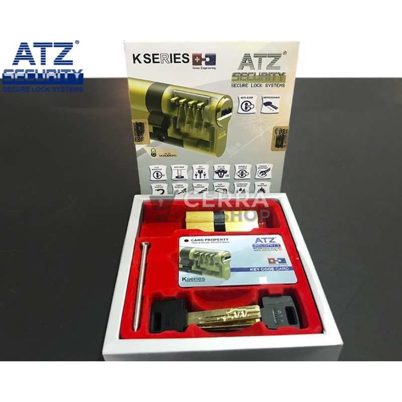 K SERIES de ATZ SECURITY - Bombín de Alta Seguridad