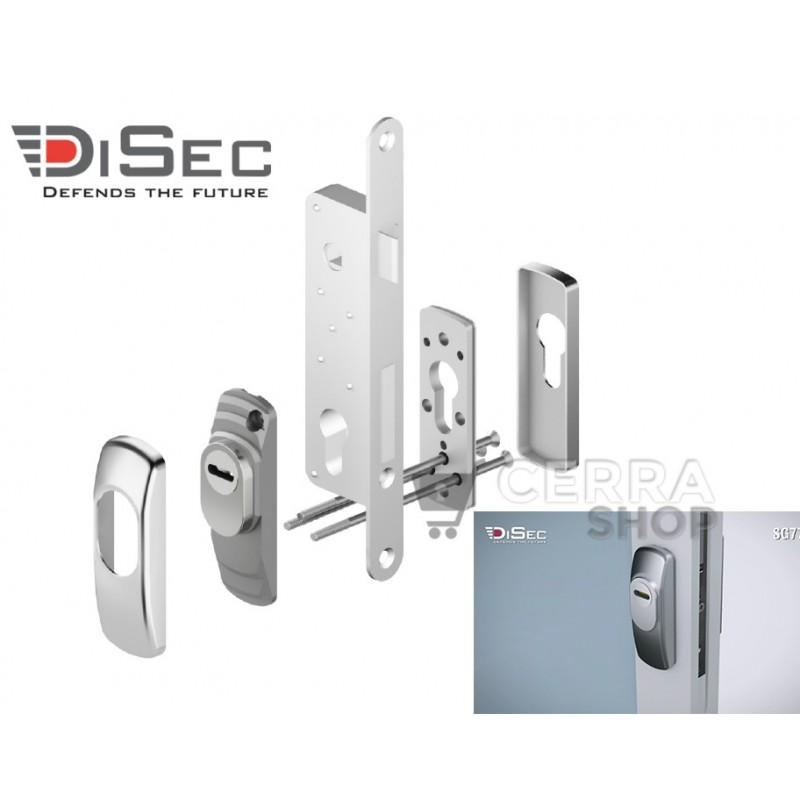 DISEC SerieSG77 - Escudo de Alta Seguridad Estrecho
