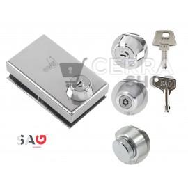 SAG VRC - CRC - Cerradura de Seguridad para puerta de Cristal