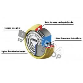 Escudo Blindado de Alta Seguridad DISEC BD280 Serie ROK