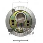 Escudo Protector Blindado de Cerradura DISEC BD285