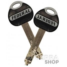 Cilindro Antibumping Thirard Federal 2 - con 5 llaves