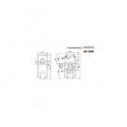 Escudo protector magnético cerradura gorja, MG210MCM, Disec