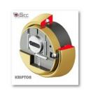 Kit Plus Escudo DISECBKS280 (Serie Kripton) + Cilindro MUL-T-LOCK MT5+ (Perfil Europeo)