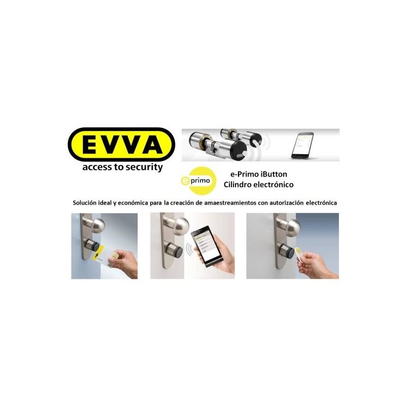 Bombín Alta Seguridad Electrónico EVVA E-Primo