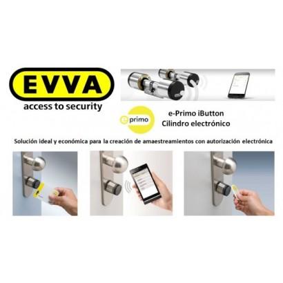 Bombín EVVA E-Primo Alta Seguridad Electrónico  (Perfil Suizo)